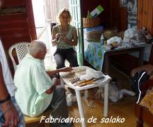 balade terre de bas, salako, les saintes, iles guadeloupe, antilles