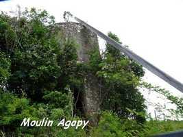 Moulin Agapy, Saint Louis, Marie Galante