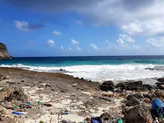 anse a la barque falaise anse bertrand Guadeloupe