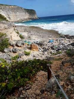 anse a la barque falaises anse bertrand Guadeloupe
