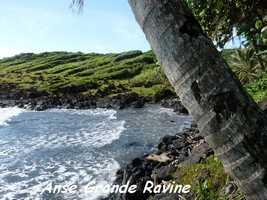 Anse Grande Ravine, Grande Pointe