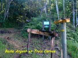 bifurcation baille argent, trace 36 mois, Ste rose, basse terre, guadeloupe