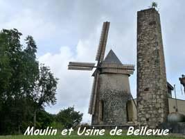 Moulin Bellevue, Capesterre, Marie Galante