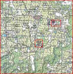 Bézard et Bellevue carte, Capesterre, Marie Galante