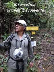 bifurcation gde découverte, trace V Hugues, B Terre