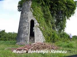 Moulin Bontemps Rameau, Capesterre, Marie Galante