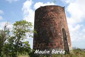 Moulin Borée, Capesterre, Marie Galante