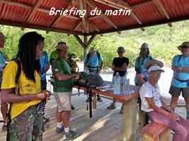 briefing, TGT3, grande terre, guadeloupe