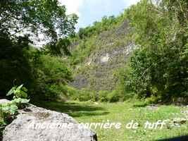 Carrière de tuff, Grand Bourg, Marie Galante