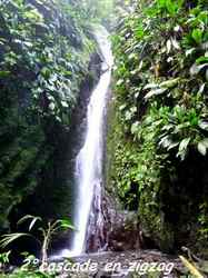 cascade autre, chutes moreau, goyave, basse terre nord, guadeloupe