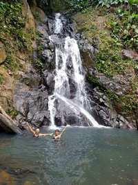 cascade 4 Ferry, Deshaies, Basse terre, guadeloupe