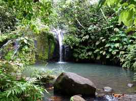 cascade Bis, Ste Rose, Guadeloupe
