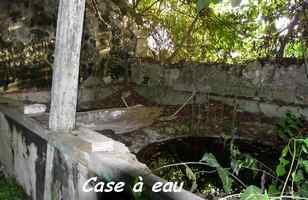 case à eau, Nesmond, Marie galante, Ile de Guadeloupe, antilles