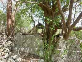 citerne houelche, terre de bas, Guadeloupe
