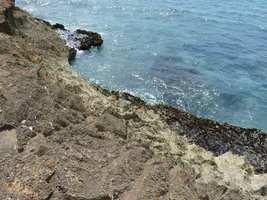 bord de mer, littoral Gosier, saline-pt havre, guadeloupe