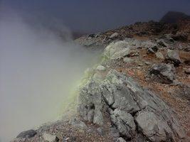 cratère sud, Soufrière, basse terre, guadeloupe