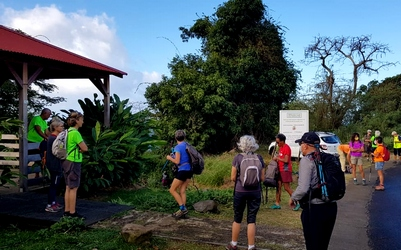 depart bisdary tour du houelmont guadeloupe