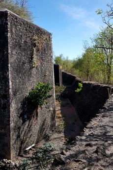 douves fort napoléon terre de haut