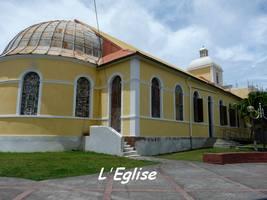 Eglise, Grand Bourg, Marie Galante