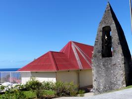 eglise , vieux fort, basse terre, guadeloupe