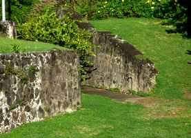 entrée fort vieux fort, Guadeloupe