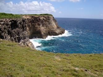 pointe falaises Anse bertrand Guadeloupe