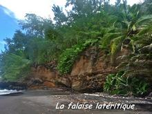 balade, cascade fontaine, falaise, capesterre, basse terre, guadeloupe, antilles