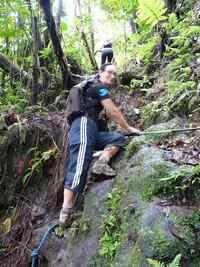 grimpette, Trace des étangs