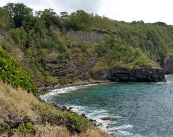 falaise, vieux fort, basse terre, gaudeloupe