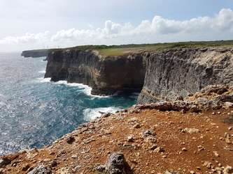 grande pointe Trace Falaises Guadeloupe