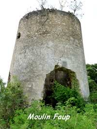 Moulin Faup, grand Bourg, Marie Galante