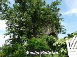 Moulin Pelletan, lac de Gaschet