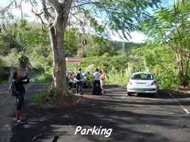 parking, morne cadet, gourbeyre