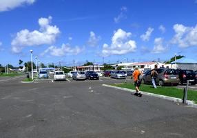 parking, port louis, grande terre, guadeloupe