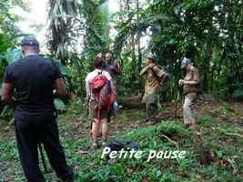pause , bifurcation belle isle, Contrebandiers, Guadeloupe
