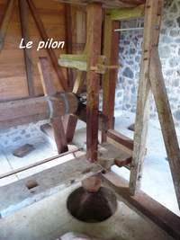 pilon, grivelière