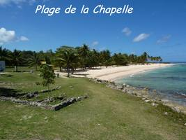 plage Chapelle, TGT2, grande terre, guadeloupe