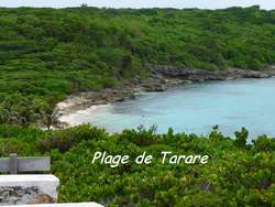 plage tarare, pointe des chateaux , Guadeloupe