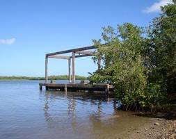 ponton beautiran, petit canal, grande terre, guadeloupe