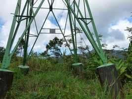 pylone, trace contrebandiers, basse terre nord, guadeloupe