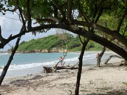 plage St Félix, grande terre, guadeloupe