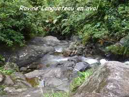 ravine longueteau, chutes carbet, basse terre sud, guadeloupe