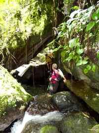ravine tonton, rivière vx habitants, guadeloupe