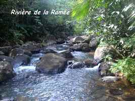 rivière la ramée, ste rose, trace 36 mois, basse terre, guadeloupe