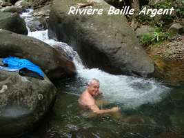 rivière B argent, basse terre nord, guadeloupe