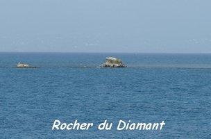 Rocher du Diamant, Pointe Saline, Petit Havre