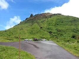 savane à mulets, Soufrière, Basse Terre, Guadeloupe