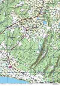 Sentier Murat, carte,Grand Bourg, Marie Galante