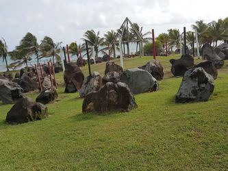 site amérindien Moule Guadeloupe