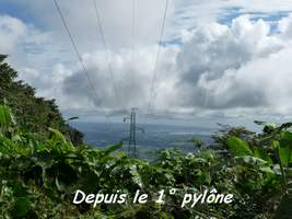 Vue 1 pylone, Contrebandiers, Guadeloupe